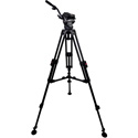 Cartoni KM40-1AG Master 40 Head Dovetail Plate 2 Pan Bars 1 Stage Alm. Studio Tripod Spreader
