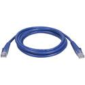 Connectronics 350MHz UTP CAT5e Patch Cable 10 Foot Blue