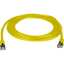 Connectronics Molded UTP Cat6 Cable 24AWG 50u 75 Foot Yellow