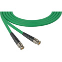 Laird CB-CB-15-GN Canare LV-61S RG59 BNC to BNC Video Cable - 15 Foot Green