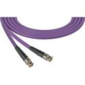 Laird CB-CB-18IN-PE Canare LV-61S RG59 BNC to BNC Video Cable - 18 Inch Purple