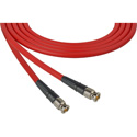 Laird CB-CB-18IN-RD Canare LV-61S RG59 BNC to BNC Video Cable - 18 Inch Red