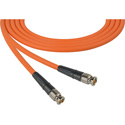 Laird CB-CB-50-OE Canare LV-61S RG59 BNC to BNC Video Cable - 50 Foot Orange