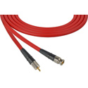 Laird CB-CR-10-RD Canare LV-61S RG59 BNC to RCA Video Cable - 10 Foot Red