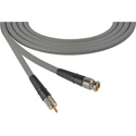 Laird CB-CR-50-GY Canare LV-61S RG59 BNC to RCA Video Cable - 50 Foot Grey
