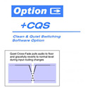 Cobalt Digital Plus-CQS Clean and Quiet Switch Option for 9902 & BBG-1000 series