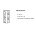 Cobalt RM20-9002-A openGear Rear I/O Module HD/SD-SDI Input BNC For 9002 Card