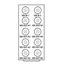 Cobalt RM20-9004-A OpenGear Frame Rear I/O Module