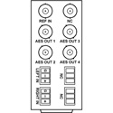 Cobalt RM20-9345-B I / O openGear Rear Module For 9345 Stereo Analog Audio to AES A / D Converter Card