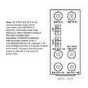 Cobalt Digital RM20-9902-2UDX-F openGear Rear Module I/O for 9902-2UDX