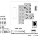 Cobalt Digital RM20-9971-C-HDBNC 20-Slot Frame C Rear I / O for 9971 openGear Cards