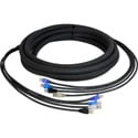 Laird CES-RJ45-6 4-Channel RJ45 CAT5e Tactical Ethernet Snake Cable - 6 Foot