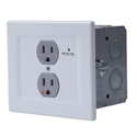 Chief EGX-SF2 Power Filtering & Surge Protection Wall Outlet