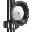 Chief JPP210B Medium Pivot/Tilt Pole Mount - Black