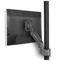 Chief K1P110B Kontour K1P Dynamic Pole Mount - 1 Monitor - Black