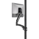 Chief K1P120BXRH Kontour Articulating Single Monitor Reduced-Height Pole Mount - i Monitor - Black