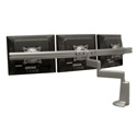 Chief KCD320S Dual Arm Desk Mount - Triple Monitor - Silver