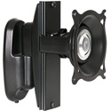 Chief KWP130B Pivot/Tilt Wall Mount with Height Adjustment - Single Monitor - Black