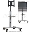 Chief MFC-U Universal Flat Panel Mobile Display Stand (Silver)