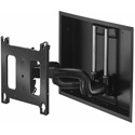 Chief PNRIW2000B Large Low-Profile In-Wall Swing Arm Mount - 22 Inch without Interface