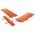 Checkers 2CL2X150-GP-O Linebacker 2-Channel Protector Bridge - Orange