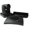 ClearOne COLLABORATE Versa 50 Hub with UNITE 50 4K ePTZ HD Camera & CHAT 150 Speakerphone