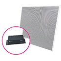 ClearOne COLLABORATE Versa Lite CT USB Expander/BMA-CTH 24IN Ceiling Tile Beamforming ClearOne Microphone Array w/PoE