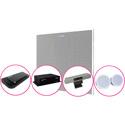 ClearOne COLLABORATE Versa Room CT COLLABORATE Versa Hub & Versa USB/UNITE 50 4K ePTZ Camera/Ceiling Loudspeaker