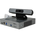 ClearOne COLLABORATE Versa 50 CONVERGE Huddle CTH / UNITE 50 4K ePTZ camera / Ceiling Mic Array - White