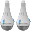 ClearOne 930-6200-206-W-A Ceiling Mic Array Analog-X 2 Arrays (6 Channels) - White