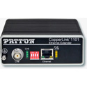 Patton CL1101/R/PAFA/BNC/E CopperLink PoE Remote (receive) Extender - 1x 10/100/802.3af (mode A) / BNC Line/Line Powered