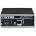 Patton CL1101/R/PAFA/RJ45/E CopperLink PoE Remote (receive) Extender-1x10/100 - 802.3af (mode A)-RJ45 Line-Line Powered