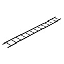 Mid-Atlantic CLB-10-W18 10 Ft Longx18 In. Wide Straight Section Ladder
