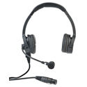 Clear-Com CC-220-X4 Premium Lightweight Double On Ear Headset - Field Removable Four-pin Female XLR