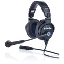 Clear-Com CC-400-X6 Double-Ear Standard Headset with 6-Pin Male XLR Connector