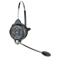 Clear-Com WH301 Two Channel All-in-One Headset with 2 BAT50 Li-Ion Batteries - Use with MB300ES Base Station Only