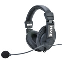 Clear-Com CZ11451 CC-30 Double-Ear HME Headset with Mini Connector