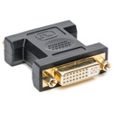 Calrad 35-710A DVI-I to DVI-I 29 pin Female to Female Coupler fits in standard DB15 d-sub cutout