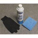 ClearSonic CP Clear Pac includes Ammonia-free Acrylic Plastic Cleaner (Aerosol Can) / Microfiber Towel and Gloves - PPE