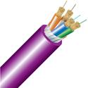 Cleerline 4B50125OM4R 4 Strand 50/125 SSF Indoor Fiber Cable 1000 foot