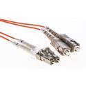Cleerline DOM2LCSC03M LC/UPC-SC/UPC-1.6mm Riser-OM2-3m Fiber Cable