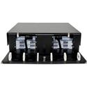 Cleerline SSF-3RU-E8 3 RU 8 Termination Panel Rack Mount Fiber Distribution Unit