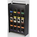 Custom Loaded 20-Channel Stage Box with 3-Pin XLR / 4-Pin XLR / Ethernet Channels