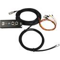Custom 39 Foot Fan to Breakout Box Video Snake Hirose 26-Pin EIAJ Camera Connector to SDI / VGA / Intercom / Tally