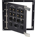 Hinged 8x8 Custom Truck I/O Panel with Stainless Steel Latches