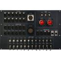 7RU Custom Truck I/O Panel C4H with Triax / DT12 Audio Breakouts / 24-Channel ST Fiber
