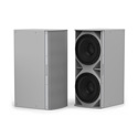 Community IS6-215W Medium Power Dual 15 Inch Subwoofer White