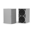 Community IS6-218W Medium Power Dual 18 Inch Subwoofer White