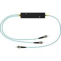 Camplex CMX-MM1X2ST-003 OM3 50u Multimode ST Fiber Optic 1x2 Splitter Cable - 3 Foot