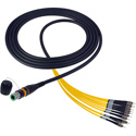 Photo of  Camplex CMX-OCMTPSMST10 opticalCON MTP to ST Singlemode APC 12 Channel Breakout Cable - 10 Foot